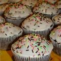 Muffins chocolat pour vente au profit d'Haïti