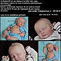 Nouveautes bebe reborn chic