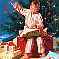 christmas wrapping art bye gordon johnson