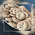 Cookies beurre de cacahuète/chocolat