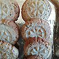 Biscuits à la crème de sésame ( Tahiné ) 044