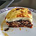 moussaka grecques
