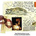 Page d'herbier de poche n°18 recto