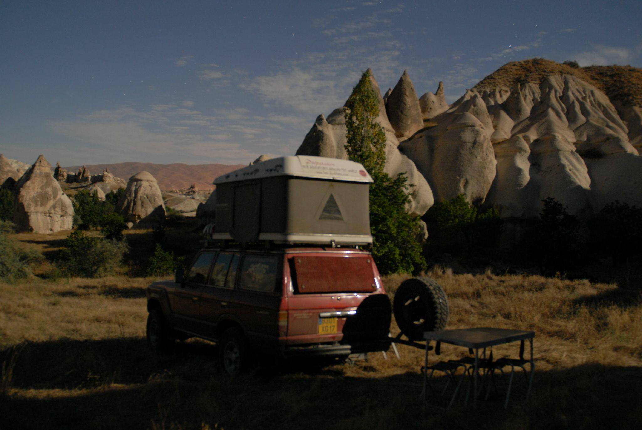 Bivouac en Cappadoce