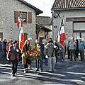 Commémoration du 11 novembre à saint-gence