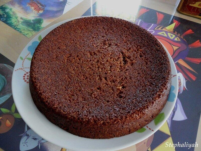 Gâteau chocolat noix de coco - 2