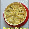 Tarte au coulommiers