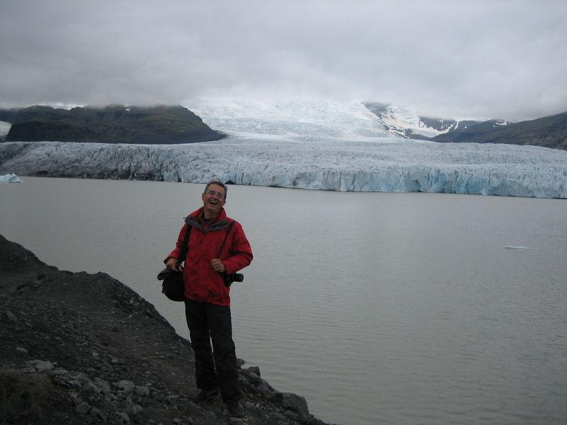 L'une des langues frontales du glacier Myrdalsjokur
