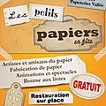 Les petits papiers en fête 2012