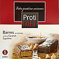 Barre caramel suprême protidiet - 5/10