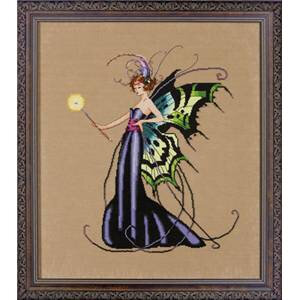 MD122- August Peridot Fairy