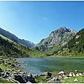 Col de pabat ( 2648 m) et lacs de batcrabère