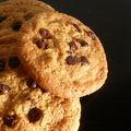 Cookies aux pépites de chocolat ...