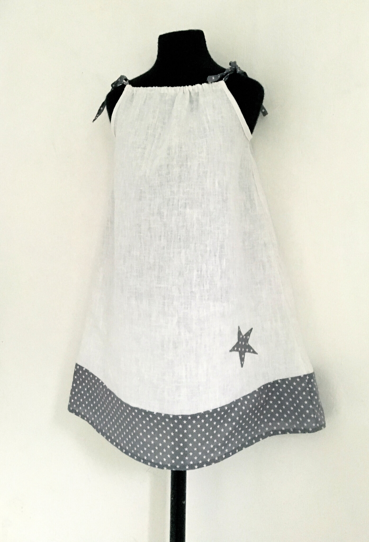 Robe en lin pour fille