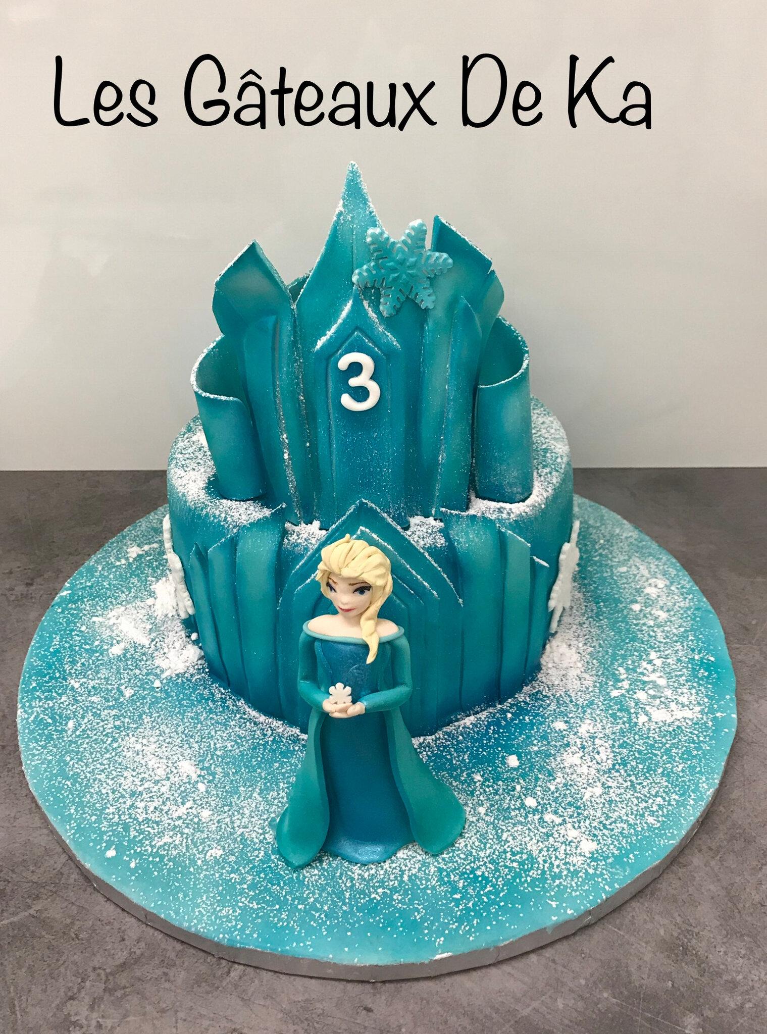 Le château de la reine des neiges