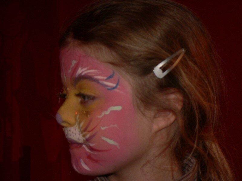 profil de chat coloré...