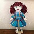 Gwenaela, poupée chiffon
