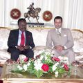 Prince Moulay Rachid receives Gabonese President 8/25/2005