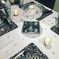 Table chic diamonds