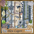 Kit bleu lagon