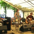 Mary-Lou with Stephane Dhondt at the Pont Scorff Festival