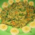 Quinoa aux légumes et une épice