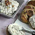 Crème de chèvre au miel & au romarin...le jour du livre