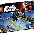 Lego 75102 x-wing t-70 the force awakens