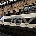 Rame spéciale 30 ans de TGV! (n°65), Bordeaux