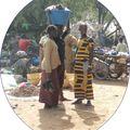 Mali jour de marché à SEGOU