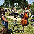 Succès populaire de la 5ème convergence vélo en baie du mont-saint-michel - dimanche 15 juin 2014