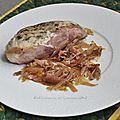 Crépinettes de saumon aux échalotes ****