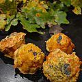 Muffins aux carottes et graines de pavot bataille food #28