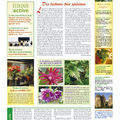 Magazine jardinage bio, la gazette des jardins - un ton différent