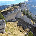 707 Vercors-le pinet par la grande sangle en boucle-11 11 2015
