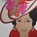 Collage : Les chapeaux de ces dames ...
