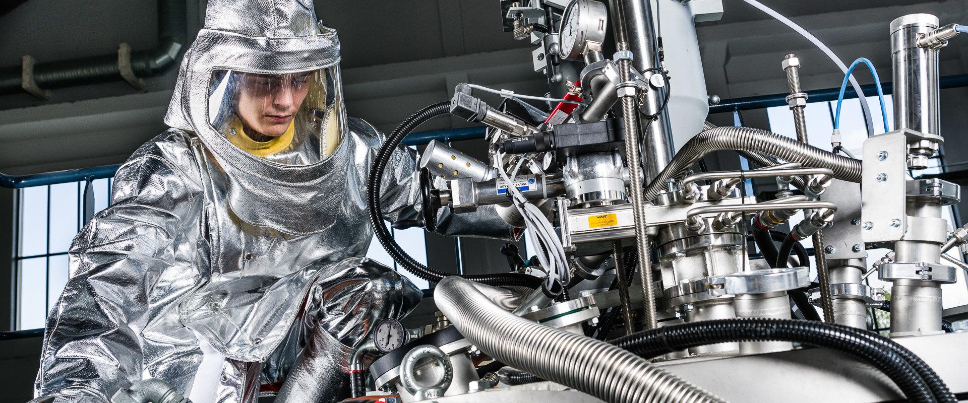 Metafensch atomise du titane pour la fabrication additive
