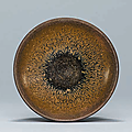 Asmall Jian'Hare's Fur' bowl, Southern Song dynasty (1127–1279)