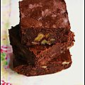 Brownies au sarrasin (ss gluten)