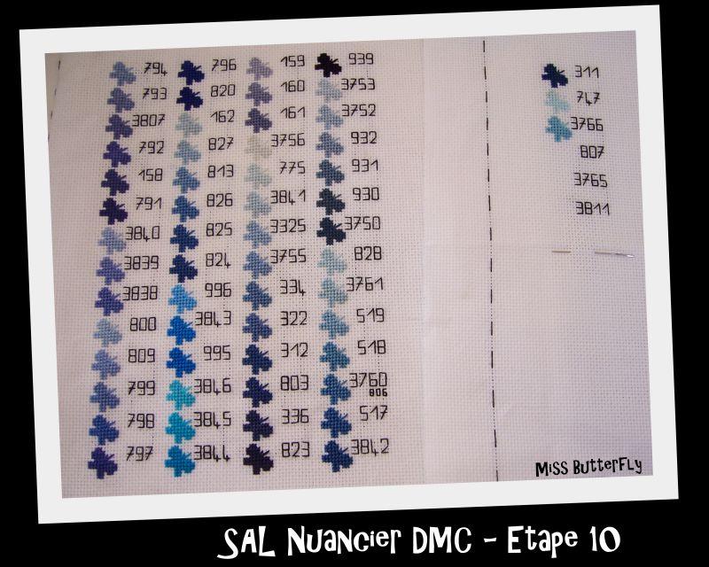 SAL Nuancier DMC -Etape 10