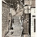 Trelon - l'escalier royal