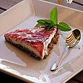 Cheesecake sans cuisson...