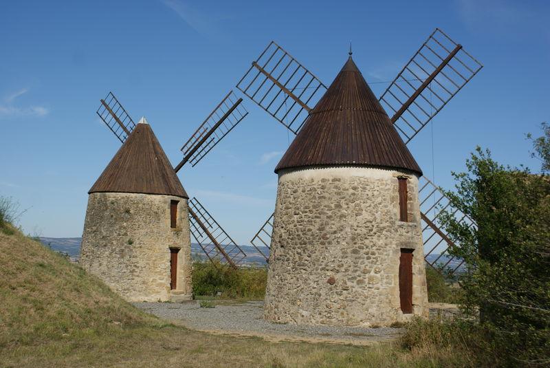 Moulins de Laffon - Mas Ste Puelles -dépt 11