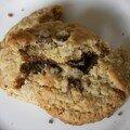 Les fabuleux cookies aux raisins de Phoebe sans les raisins mais avec des pépites de chocolat