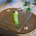 Table verte - Maison