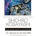 shichiro kobayashi, un peintre au pays du dessin animé!