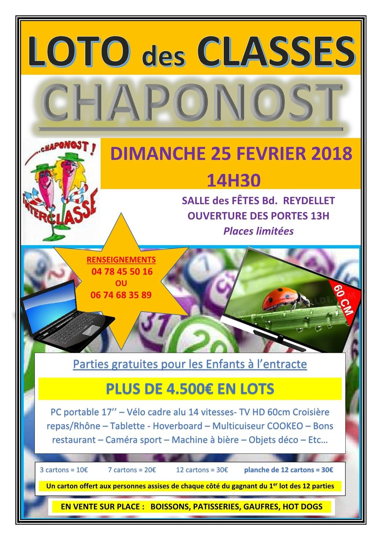 LOTO des Classes 2018
