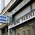 Menu parisien 1