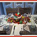 L'automne s'invite à table.......