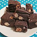 Fudge chocolat noisette